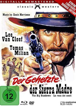 Der Gehetzte der Sierra Madre Limited Edition BluRay DVD Explosive Media