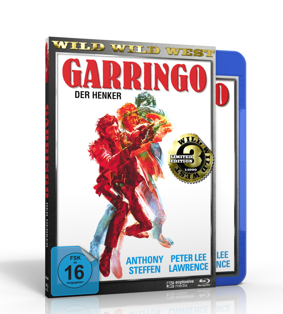 Garringo BluRay DVD