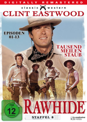 Rawhide - Season 8 - DVD Cover