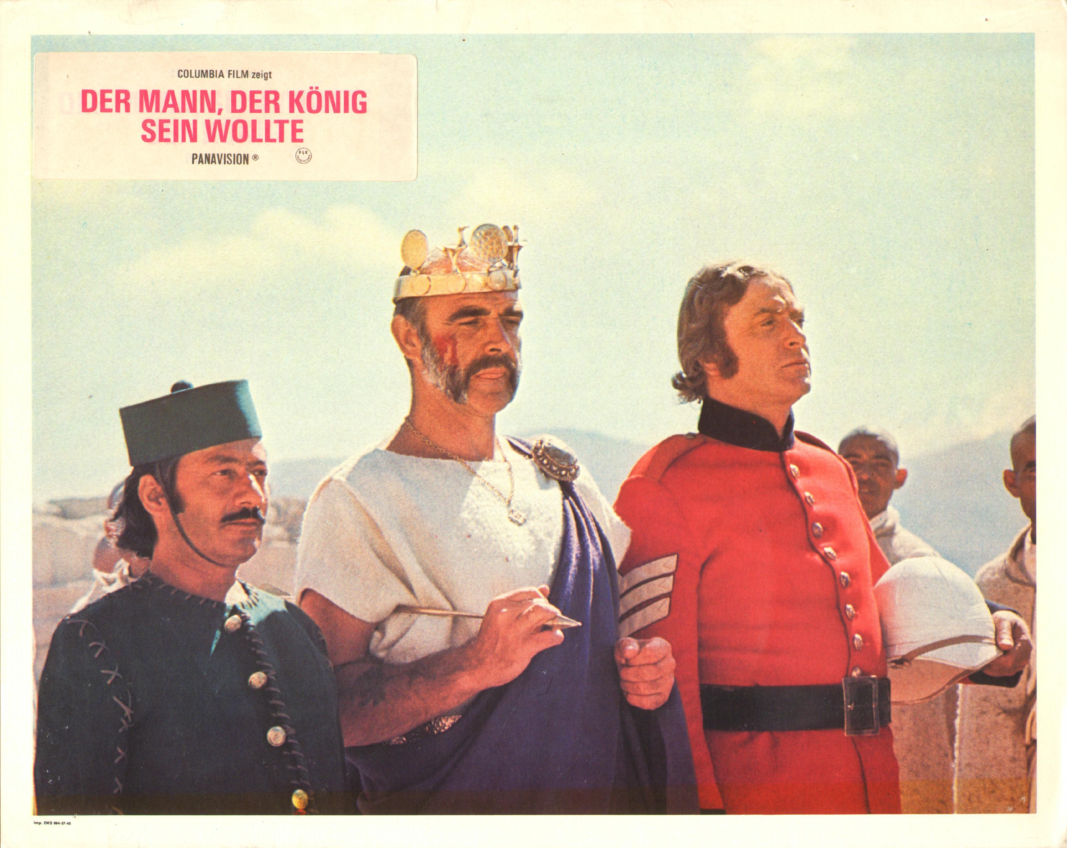 Der Mann Der König Sein Wollte