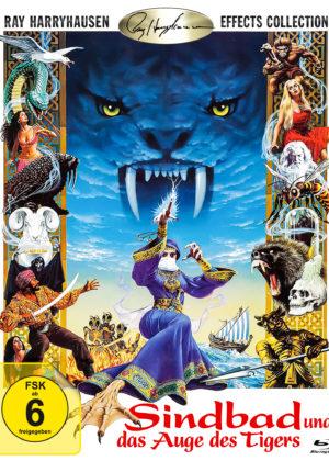 Sindbad und das Auge des Tigers - BD Cover