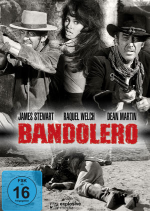 Bandolero - DVD Cover