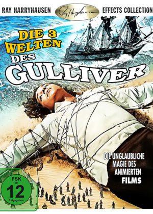 Die drei Welten des Gulliver - BD Cover