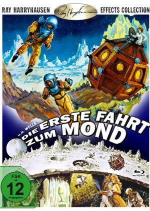 Die erste Fahrt zum Mond - BD Cover