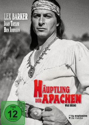 Häuptling der Apachen - DVD Cover
