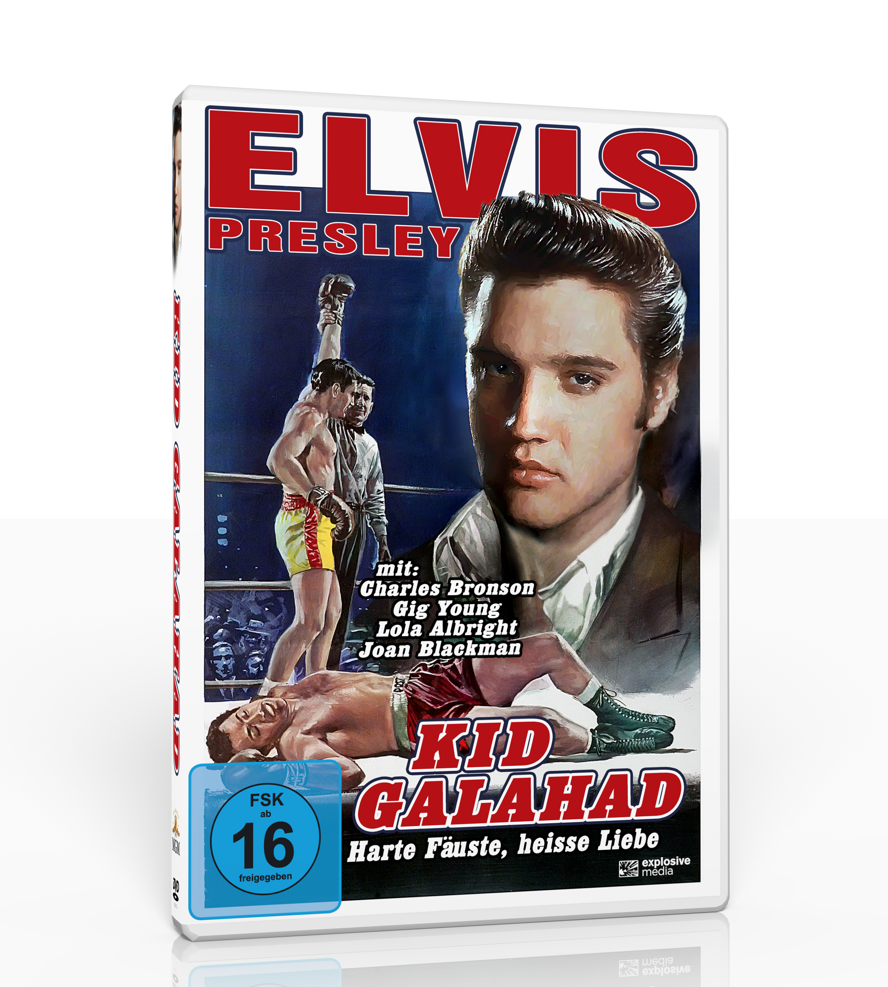 Harte Fäuse, Heisse Liebe(DVD